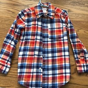 Boys Carter's flannel button down